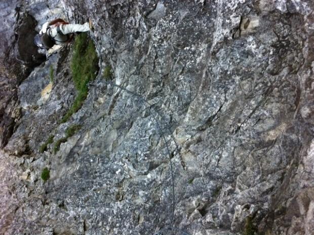 Klettersteig Wimmis : Klettersteig rotstock eiger