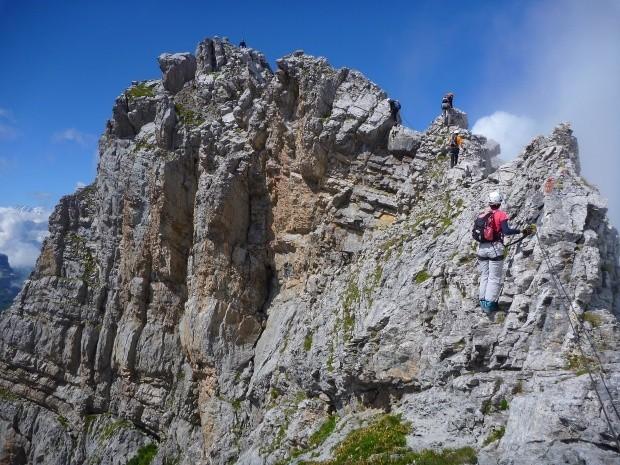 Klettersteig Graustock : Graustock klettersteig in engelberg fotos