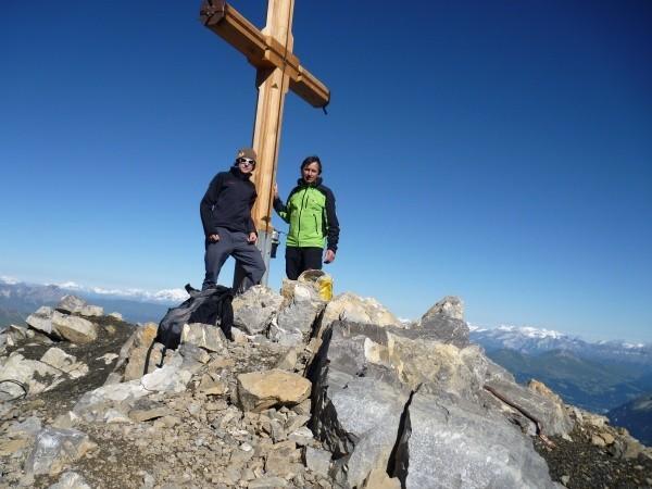 Klettersteig Piz Mitgel : Klettersteig piz mitgel fotos