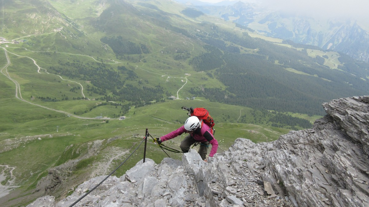 Klettersteig Rotstock : K2 eiger rotstock tourenberichte
