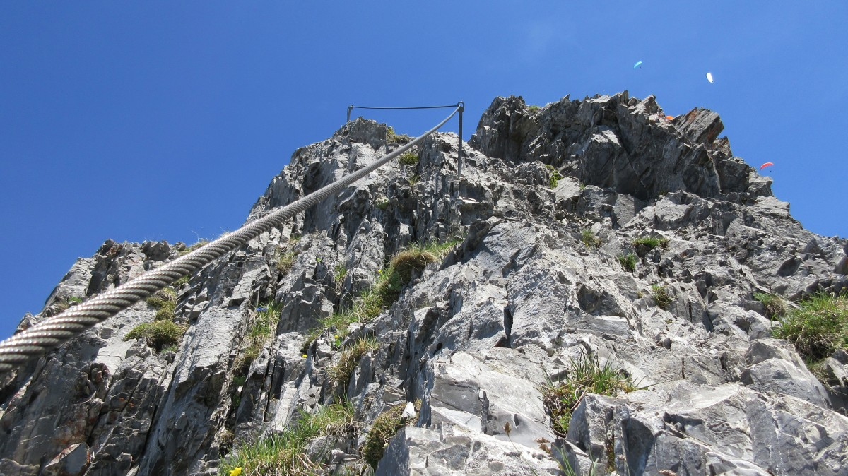 Klettersteig Tälli : K3 tälli tourenberichte
