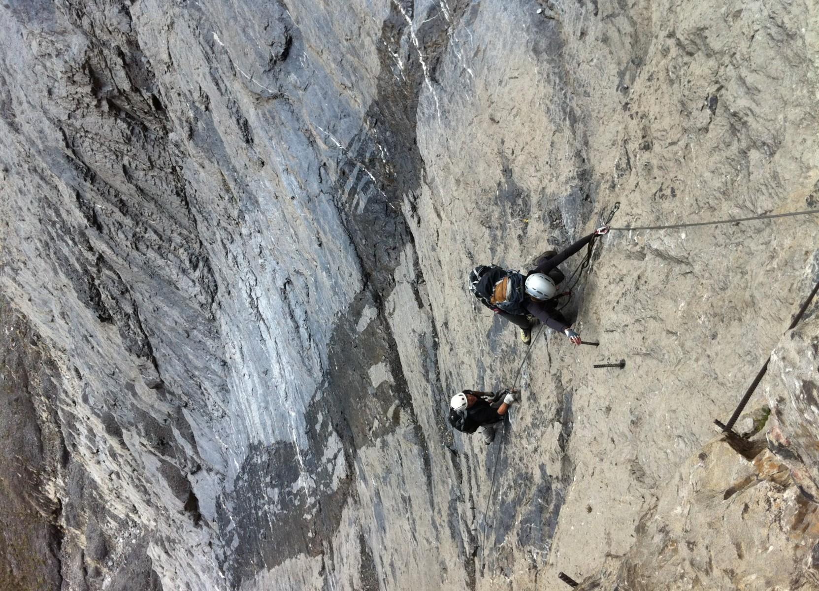 Klettersteig Daubenhorn : Diverse fotos